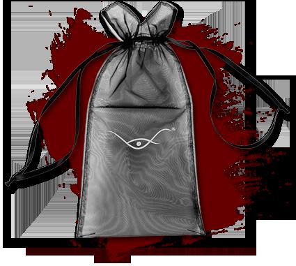 Trauerbox - Organza Satinbeutel für Erinnerungen