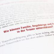 Trauerbox - Begleitbuch Freunde Familie Angehörige