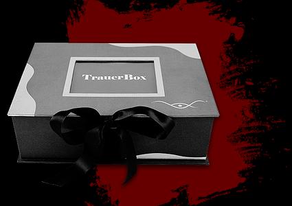 Vorstellung der TrauerBox auf dem Hospiztag
