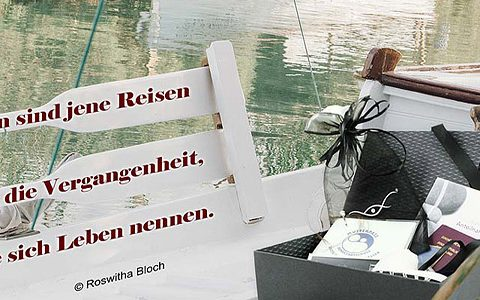 Die TrauerBox ® aus Bernburg reist um die Welt